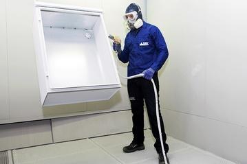 Tratamiento fosfatizado, cabina de pintura y equipo Optiflex Gema.